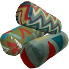Bolster Cover*A-Grade Cotton Canvas Neck Roll Tube Yoga Massage Pillow Case*LL3