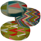 "2""Thick-Round Box Shape Cover*A-Grade Cotton Canvas Chair Seat Cushion Case*LL3"