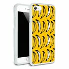 Just Bananas Pattern Hybrid Rubber Bumper iPhone 7 and 7 Plus
