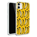 Just Bananas Pattern Apple iPhone 8, 8 Plus, X, 11 Case