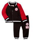 True Religion Baby Boys 2 Piece Set Varisty Jacket & Lounge Pant NEW 12 18 month
