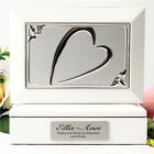 Godmother White Heart Jewel Box Gift