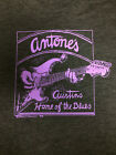 "New ANTONE'S ""Austin's Home Of The Blues"" PURPLE GUITAR T-Shirt S-3XL"