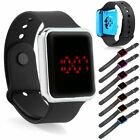 Silicone LED Men Womens Sport Watch Digital Bracelet Wrist Watches Unisex image