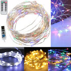 50 Led 16.4ft Colorful String Fairy Lights Usb Powered Xmas Party Room Decor