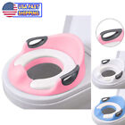 Potty Trainer Toilet Chair Seat For Kids Boys Girls & Toddlers Cushion Handles image