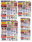 Внешний вид - 1:24 1:42 1:64 DECALS FOR DIECAST AND MODEL CARS & DIORAMA  SUNOCO
