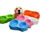 Pet Feeding Bowl Dog Cat Food Water Container Double Feeder Dish Puppy Supplies