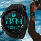 Men Luxury Sport Wrist Watch LED Digital Military Silicone Army Waterproof New image
