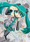 Anime Vocaloid Hatsune Miku Poster Group High Grade Glossy Laminated