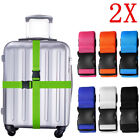 Kyпить 2x Adjustable Travel Luggage Safe Belt Packing Suitcase Baggage Backpack Strap на еВаy.соm