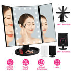 Touch Screen Makeup Mirror Tabletop Cosmetic Vanity light up Mirror 22 LED