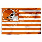 Cleveland Browns With Modified Us Flag 3Ft X 5Ft Polyester Banner 90*150Cm on eBay