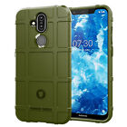 Rugged Shockproof Shield Soft Rubber Armor Case For Nokia 7.1 Plus (Nokia X7)