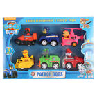 Set Doll Puppy Paw Patrol Dog Movable Joints Figure Patrulla Canina Car Toy