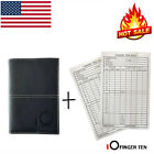 Yardage Book Cover Golf Scorecard Holder Leather Plus Score Sheets Free Sunfish
