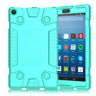 For All-New Amazon Fire HD 8 2017 Shockproof Rugged Silicone Tablet Case Cover