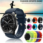 Silicone Watch Band Wrist Strap For Samsung Gear S3 Frontier/Classic 22mm image