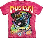 The Mountain Unisex Adult Pug Luv Dean Russo T Shirt