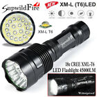 SupwildFire 45000Lm 18 X XML T6 LED 5Mode LED Taschenlampe Taschenlampe Lampe