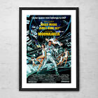 Moonraker 'James Bond' - Classic Action Cult Movie Poster Print - 1979 $75.0 AUD on eBay