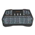 i8plus Mini Backlit Wireless Keyboard Fly Air Mouse Touchpad for PC Android Fine