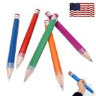 Kyпить Really Big Pencils For Kid Giant Wooden Jumbo Pencil Eraser So Cool School XL на еВаy.соm