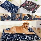 USA Soft Warm Dog Cat Pet Mat Bed Pad Self Heating Rug Thermal Washable Pillow