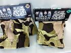 Mens Duck Dynasty Medium , Knit Boxers Functional fly, camo tan browns