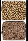 NWT Vera Bradley Tablet Sleeve- Choose Leopard or Zebra Pattern