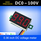 Внешний вид - Mini DC 100V 3 Wire LED Digital Display Panel Volt Meter Voltage Voltmeter