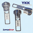 YKK ORIGINAL SLIDERS #3, #5, #7 or #10 Automatic lock made in USA