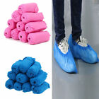 100pcs Disposable Shoe Covers Non-woven Fabrics Boot Non-Slip Covers Medical US