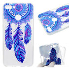 For Huawei TPU Soft Cute Clear Case Cover Rubber Silicone Skin Protective Back