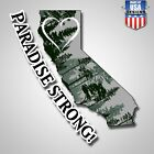 Paradise Strong !  Cal Fire Campfire Vinyl Decal Sticker Free Shipping
