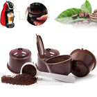 4 Refillable/Reusable Coffee Capsule Pods Cups for Nescafe Dolce Gusto Machine