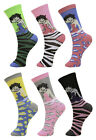 Multipack of Womens Girls Crew Socks Funny Novelty Colorful Cute Casual Socks