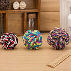 Dog Toy Squeaky Chew Rope Ball Cotton Rope Ball Great for BIte Fun Work Training