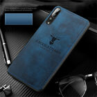 For Huawei Nova 4 3i 3E 2i Case Luxury Hybrid Soft TPU Leather Matte Back Cover