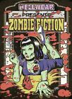 Zombie Fiction by Allan Graves Vintage Movie Poster Tattoo Framed Wall Art Print