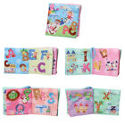 Kids Baby Intelligence Development Cloth Bed Soft Learning Book Educational Toy