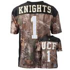 Men's RealTree Xtra Camouflage College Football Stitched Game Day Jersey