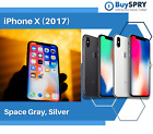 Apple iPhone X - 64GB 256GB - Factory GSM Unlocked; AT T / T-Mobile Smartphone