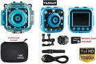 "HD Kids Children Waterproof ActionCamera 2.0"" LCD protection bag & 16GB SD Card."
