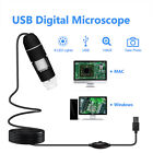 1600X USB Digital Microscope Magnifier Endoscope Camera for Phone/Tablet/Laptop