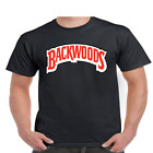 Backwoods Cigars Logo Mens T-Shirt Graphic Hip Hop Humor Funny Blunt Parody Tee
