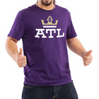 Atlanta Legends AAF Inaugural Year T shirt Purple/Black S-4XL ATL Football