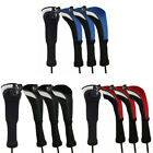 Golf Hybrid Headcover Wood Club Head Covers Interchangeable No. Tag 3 Colors