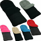 Premium Footmuff / Cosy Toes Compatible with Silver Cross