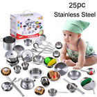 25pcs/Set Pots and Pans Kitchen Utensils Cookware For Children Pretend Play Toy